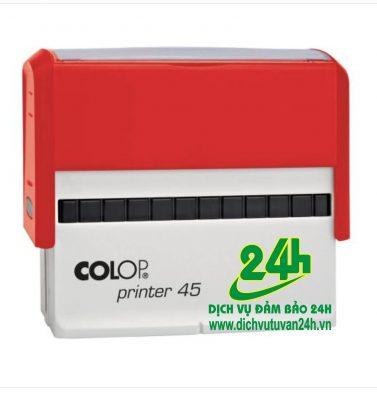 Hộp dấu tự động Colop Printer 45